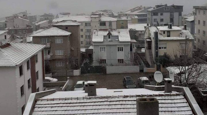 Bölgemize beklenen ve özlenen kar geldi