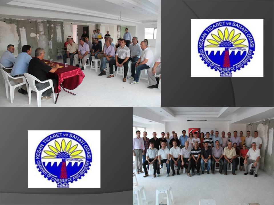 Keşan TSO Yeni Hizmet Binasında İlk Toplantısını Yaptı