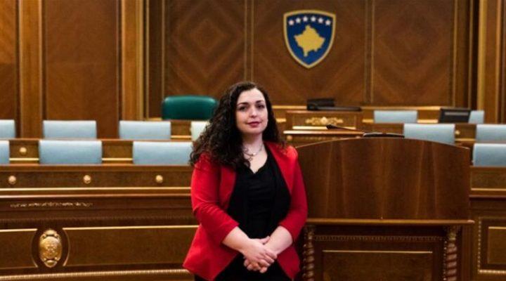 Vjosa Osmani, Kosova'nın yeni Cumhurbaşkanı oldu