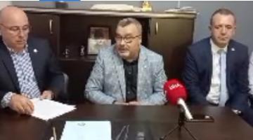 Memleket Partisi Keşan'da basın toplantısı düzenledi