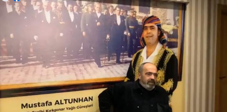 Altunhan Edirne'de basın toplantısı yaptı…