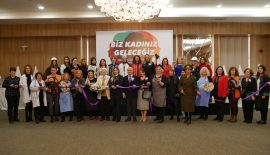 Başkan Dr. Akgün tüm mesaisini kadınlara ayırdı.