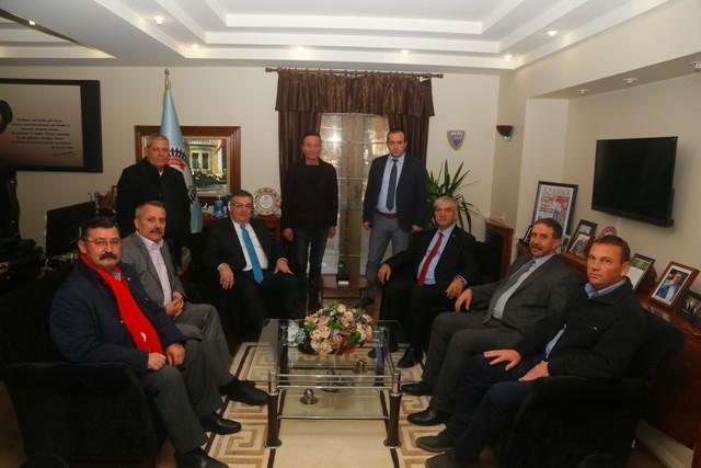 Kani Beko'dan Başkan Kesimoğlu'na Ziyaret