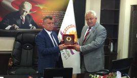 Yenimuhacır'da Mustafa Türker Göreve Başladı.