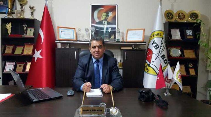 Nezir Karayün 25 Eylül'de Edirne Şubesi ile EGD, TGD ve AGD'yi ziyaret edecek