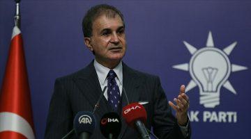 AK Parti Sözcüsü Çelik'ten, Yunan askerlerinin göçmenleri darbetmesine kınama
