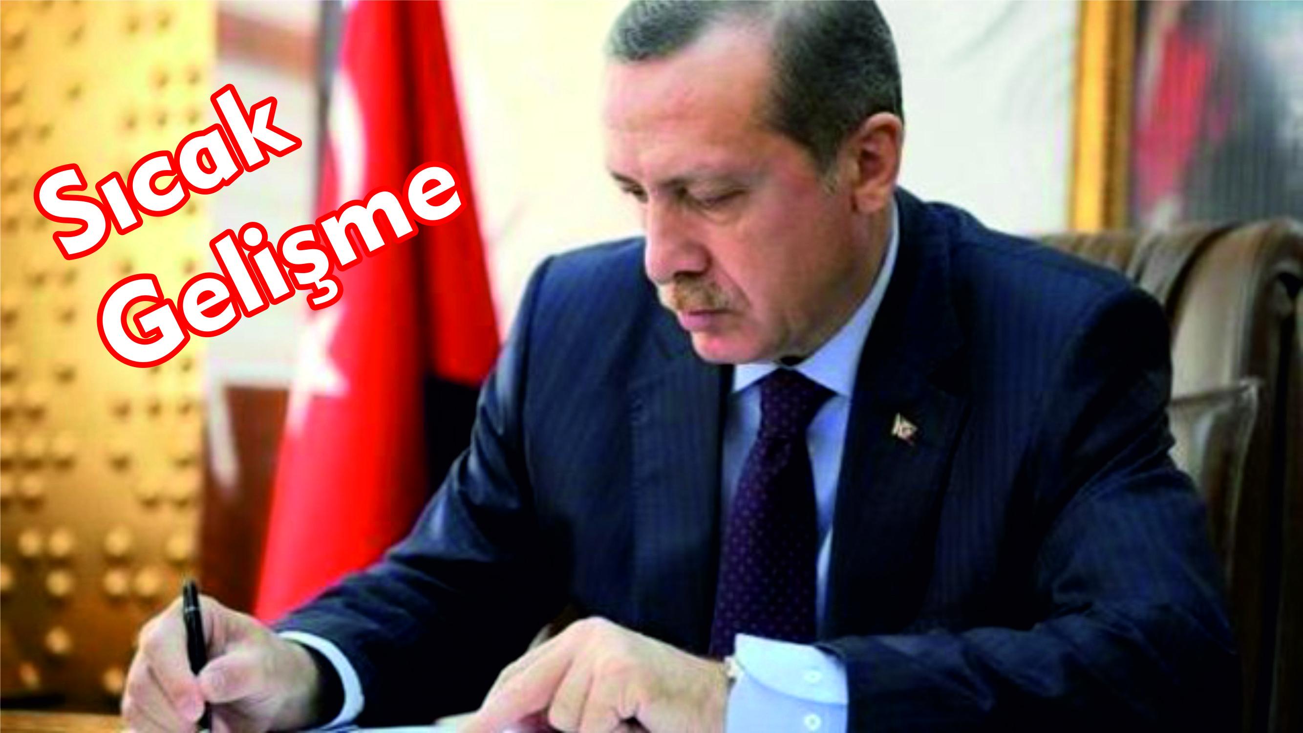 Cumhurbaşkanı'ndan Referanduma Onay