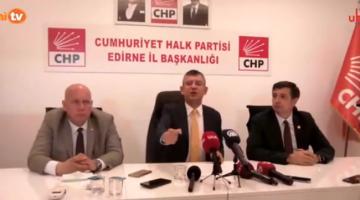 """Özgür Özel, """"10 Haziran'da Saros TBMM'de konuşulacak"""""""