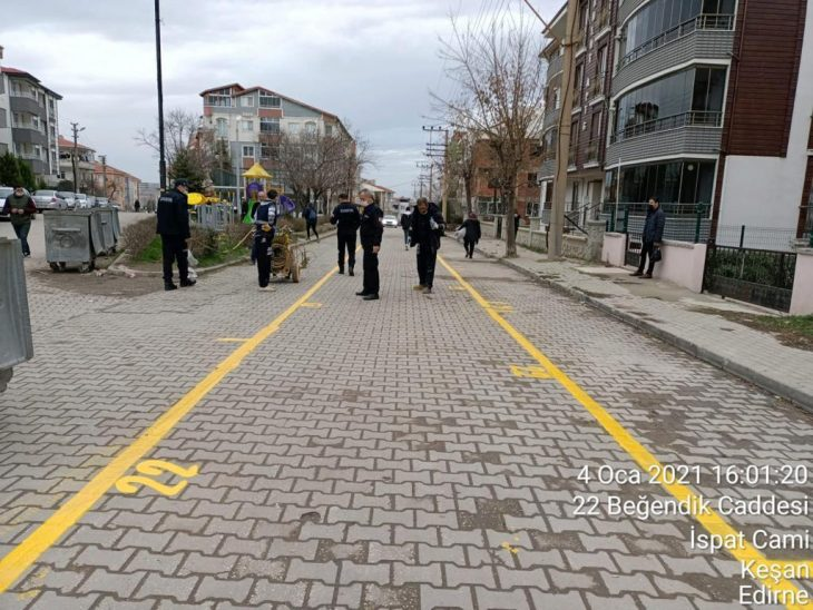 Perşembe pazarı yol yapım çalışmaları nedeniyle Beyendik Caddesi'nde kurulacak