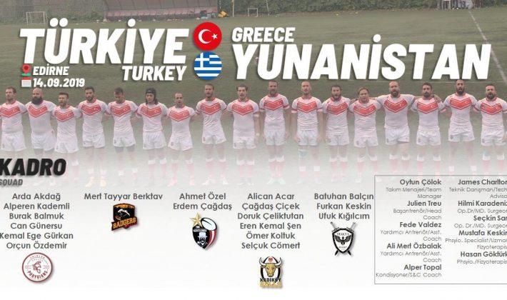 Ragbi Lig Milli Erkek ve Kadın Takımlarımız Yunanistan Maçlarına Hazır …