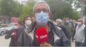 """Recep Pekcan """"Sazlıdere'de hak, hukuk, adaletin uygulanmasını bekliyoruz"""""""