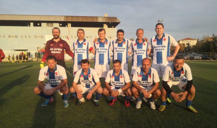 Sardos Veteranlar Uzunköprü Veteranlar'ı 5-3 mağlup etti