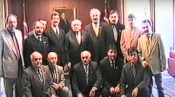 Keşanlı heyetin merhum Cumhurbaşkanı Süleyman Demirel'e ziyaret görüntüleri…