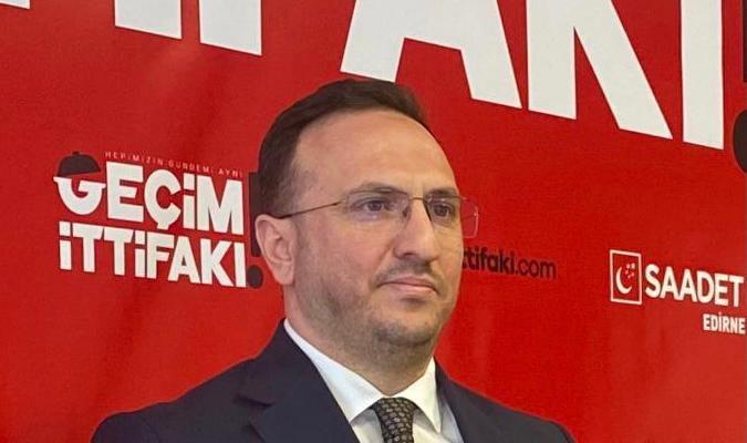Saadet PartisiEdirneİl Başkanı Tekin'den Ramazan Bayramı mesajı