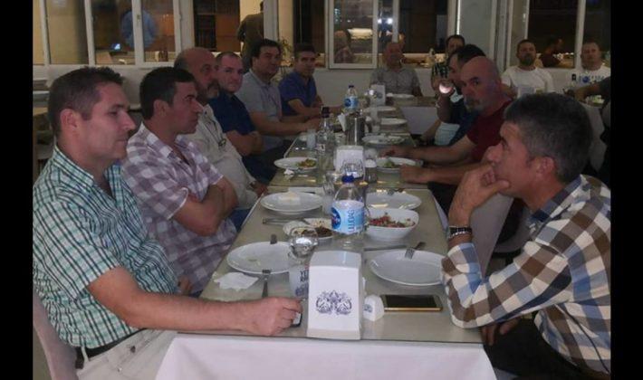 SARDOS Veteranlar Takımı Bereberlik Dayanışma Yemeği'nde Bir Araya Geldi