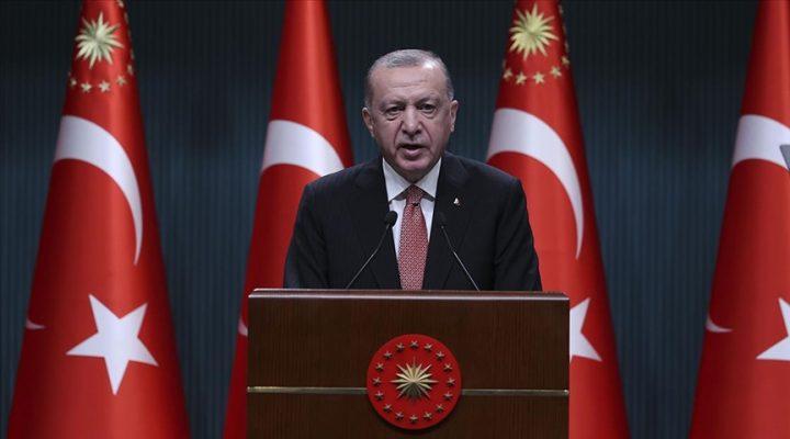 """Erdoğan """"1 Temmuz'dan itibaren sokağa çıkma yasağı kalkıyor"""""""