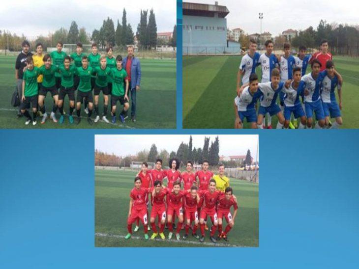 U 16 Liginde Keşanspor 1959 ve Anafartalarspor galip…