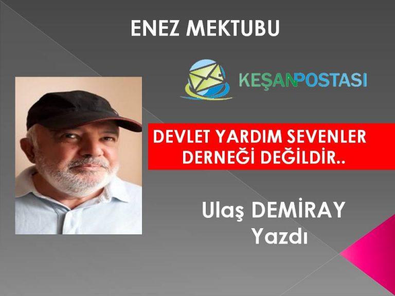 DEVLET YARDIM SEVENLER DERNEĞİ DEĞİLDİR..