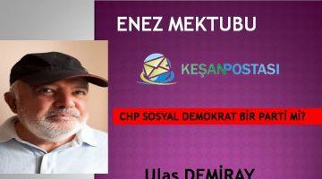 CHP SOSYAL DEMOKRAT BİR PARTİ Mİ?