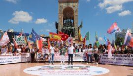 """""""Dünyanın En İyi Festivali"""" Taksim'de start verdi"""