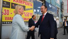 Vali Canalp'ten Başkan Becan 'a iade-i ziyaret
