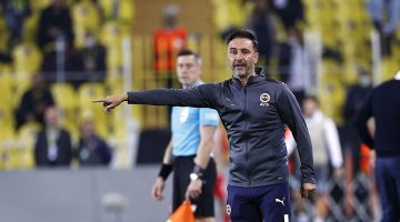 """Vitor Pereira """"Rakibimiz yarım puanlık oyun bile oynamadı. Hayal kırıklığı yaşıyoruz"""""""