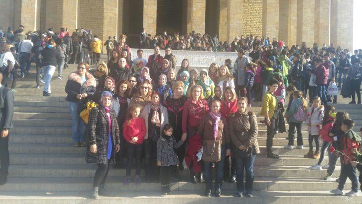 Keşanlı kadınlar Ankara'da