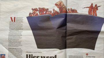BİR ERMENİ YALANI DA HOLLANDALI YAZARDAN…